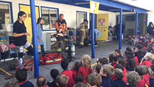 Visita bomberos pre escolar 2018 (7)